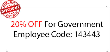 Government Employee Coupon - Locksmith at Fair Oaks, CA - Locksmith Fair Oaks Ca