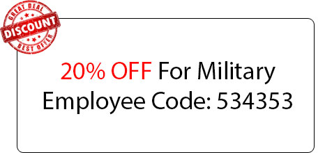 Military Employee Coupon - Locksmith at Fair Oaks, CA - Locksmith Fair Oaks Ca